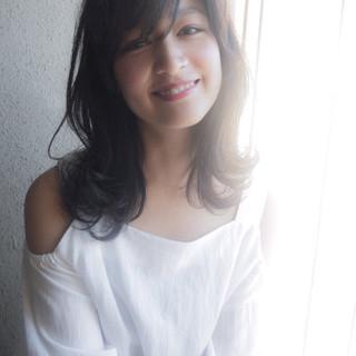 女子会 モテ髪 ミディアム 大人かわいい ヘアスタイルや髪型の写真・画像