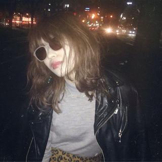 ミディアム ストリート 外国人風 ボブ ヘアスタイルや髪型の写真・画像