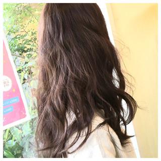 黒髪 ロング ナチュラル ゆるふわ ヘアスタイルや髪型の写真・画像