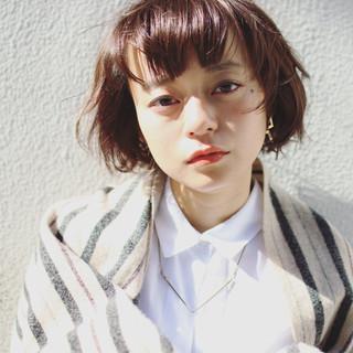 外ハネ ピュア パーマ ストリート ヘアスタイルや髪型の写真・画像