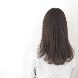 大人かわいい 外国人風 アッシュ 透明感 ヘアスタイルや髪型の写真・画像