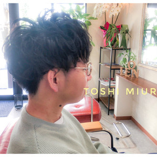 三浦 敏大さんのヘアスナップ