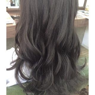 ガーリー 暗髪 ロング 黒髪 ヘアスタイルや髪型の写真・画像