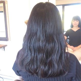 黒髪 ロング ナチュラル ヘアアレンジ ヘアスタイルや髪型の写真・画像