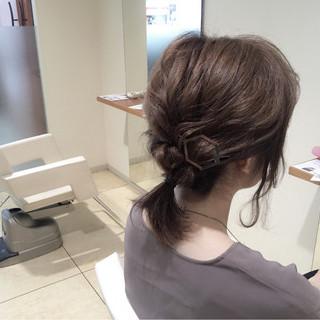 ゆるふわ 大人女子 ミディアム ヘアアレンジ ヘアスタイルや髪型の写真・画像