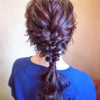 結婚式 簡単ヘアアレンジ エレガント お呼ばれ ヘアスタイルや髪型の写真・画像