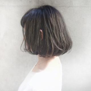モード 黒髪 ボブ 外国人風 ヘアスタイルや髪型の写真・画像