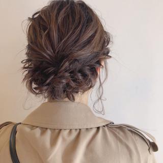 成人式 ヘアアレンジ ガーリー 結婚式 ヘアスタイルや髪型の写真・画像