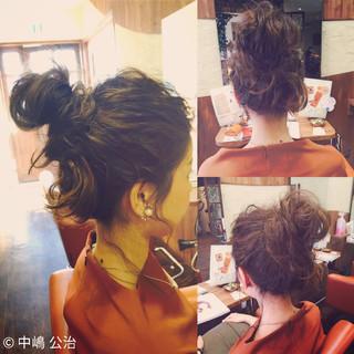 簡単ヘアアレンジ ショート 大人かわいい ヘアアレンジ ヘアスタイルや髪型の写真・画像 ヘアスタイルや髪型の写真・画像