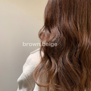 ナチュラル ミルクティーベージュ ブラウンベージュ ブラウン ヘアスタイルや髪型の写真・画像