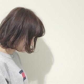 アッシュ ナチュラル 外国人風 外ハネ ヘアスタイルや髪型の写真・画像