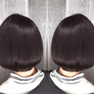 コンサバ アウトドア ボブ オフィス ヘアスタイルや髪型の写真・画像