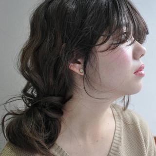 ナチュラル 大人かわいい セミロング ショート ヘアスタイルや髪型の写真・画像 ヘアスタイルや髪型の写真・画像