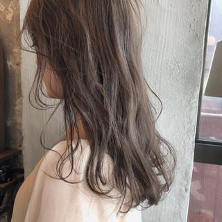 透明感 外国人風カラー 前髪あり ナチュラル ヘアスタイルや髪型の写真・画像 ヘアスタイルや髪型の写真・画像