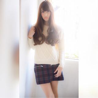 前髪あり ゆるふわ ガーリー 大人かわいい ヘアスタイルや髪型の写真・画像