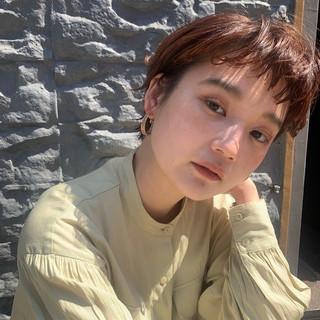 ショート ショートボブ コンサバ ショートヘア ヘアスタイルや髪型の写真・画像
