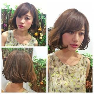 モテ髪 フェミニン ナチュラル 涼しげ ヘアスタイルや髪型の写真・画像
