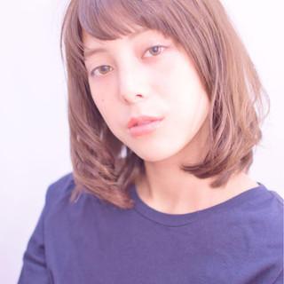 パーマ ゆるふわ 前髪あり 大人かわいい ヘアスタイルや髪型の写真・画像