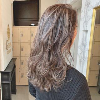 ヘアカラー 簡単スタイリング ナチュラル セミロング ヘアスタイルや髪型の写真・画像 ヘアスタイルや髪型の写真・画像