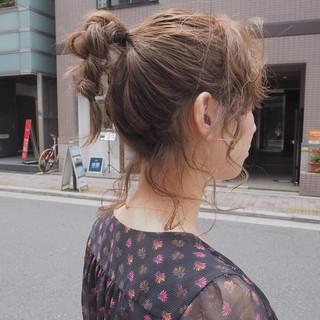 デート 女子会 ヘアアレンジ 簡単ヘアアレンジ ヘアスタイルや髪型の写真・画像