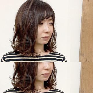 大人かわいい フェミニン 小顔ヘア 外ハネ ヘアスタイルや髪型の写真・画像