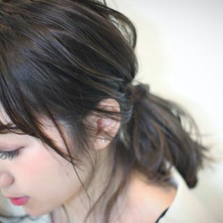 冬 ボブ 大人女子 暗髪 ヘアスタイルや髪型の写真・画像