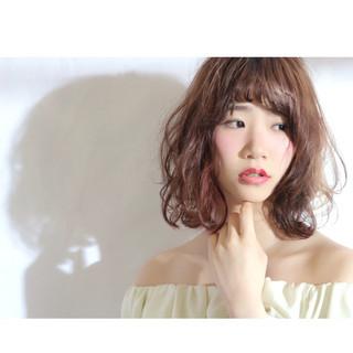 ゆるふわ 大人かわいい パーマ ガーリー ヘアスタイルや髪型の写真・画像