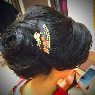 アップスタイル ヘアアレンジ 成人式 コンサバ ヘアスタイルや髪型の写真・画像