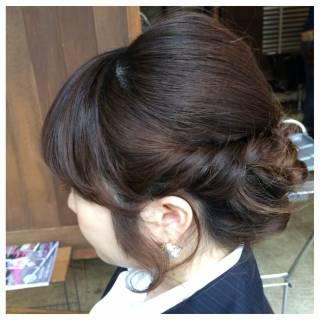 ヘアアレンジ 結婚式 成人式 ボブ ヘアスタイルや髪型の写真・画像