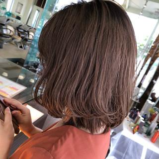 成人式 ナチュラル シアーベージュ ナチュラルベージュ ヘアスタイルや髪型の写真・画像