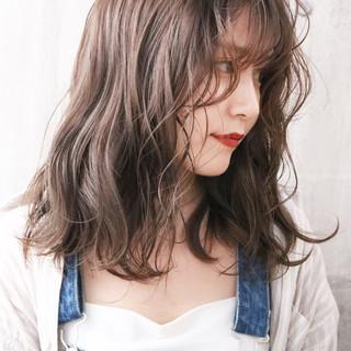 簡単ヘアアレンジ ナチュラル 大人かわいい 外国人風カラー ヘアスタイルや髪型の写真・画像