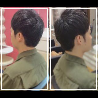 メンズヘア ショート 社会人の味方 ショートヘア ヘアスタイルや髪型の写真・画像