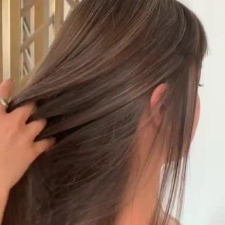 ヘアアレンジ ハイライト 簡単ヘアアレンジ 大人ハイライト ヘアスタイルや髪型の写真・画像