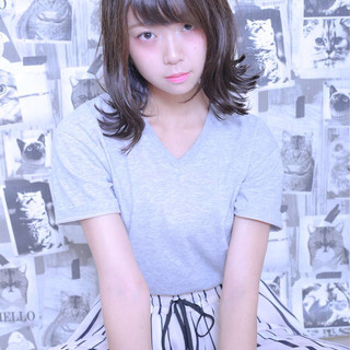ピュア ストリート 大人かわいい 抜け感 ヘアスタイルや髪型の写真・画像
