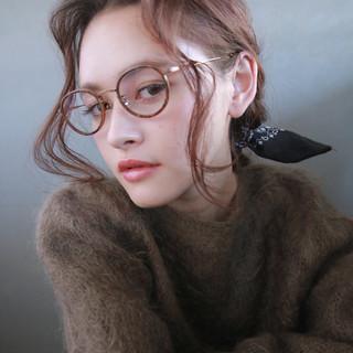 ウェーブ ヘアアレンジ 外国人風 ショート ヘアスタイルや髪型の写真・画像