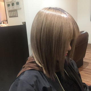 渋谷系 ベージュ ピンク ピュア ヘアスタイルや髪型の写真・画像