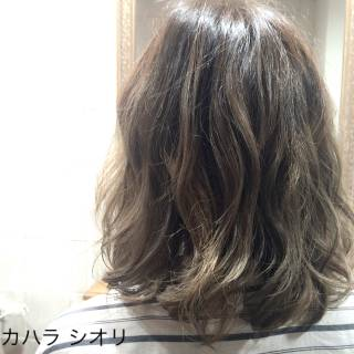 ダブルカラー グラデーションカラー 外国人風 ボブ ヘアスタイルや髪型の写真・画像