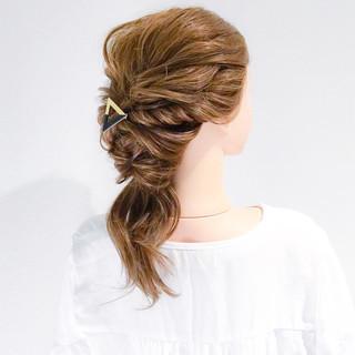 デート エレガント ショート ロング ヘアスタイルや髪型の写真・画像