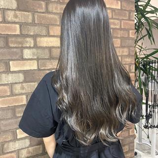 ロング 艶髪 N.オイル ナチュラル ヘアスタイルや髪型の写真・画像
