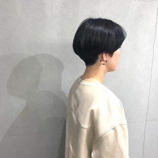 ショートヘア ベリーショート ナチュラル 刈り上げ女子 ヘアスタイルや髪型の写真・画像