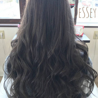 ゆるふわ 大人かわいい ロング 巻き髪 ヘアスタイルや髪型の写真・画像
