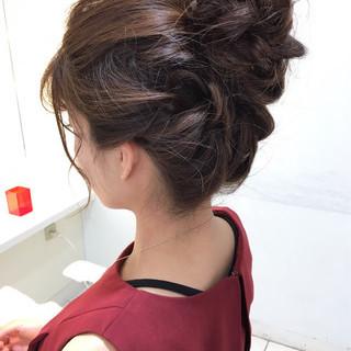 簡単ヘアアレンジ セミロング ヘアアレンジ ショート ヘアスタイルや髪型の写真・画像 ヘアスタイルや髪型の写真・画像