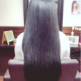 ロング ナチュラル 抜け感 大人かわいい ヘアスタイルや髪型の写真・画像