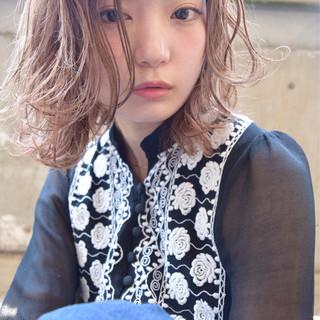ショート ナチュラル ピュア 簡単ヘアアレンジ ヘアスタイルや髪型の写真・画像