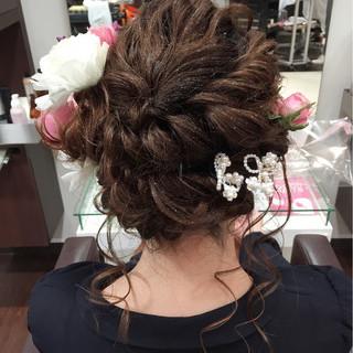 ゆるふわ フェミニン セミロング 渋谷系 ヘアスタイルや髪型の写真・画像