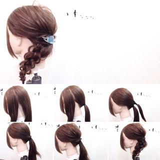 リラックス 簡単ヘアアレンジ ヘアアレンジ ショート ヘアスタイルや髪型の写真・画像 ヘアスタイルや髪型の写真・画像