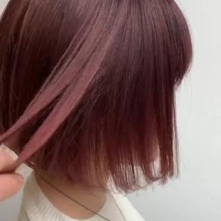 ミニボブ ショートボブ ストリート ボブ ヘアスタイルや髪型の写真・画像