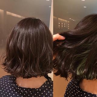 モード インナーカラー 外国人風カラー ダブルカラー ヘアスタイルや髪型の写真・画像
