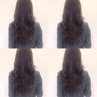 秋 ブルー ネイビー ストリート ヘアスタイルや髪型の写真・画像