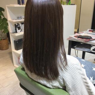 ブランジュ ツヤ髪 美髪 ナチュラル ヘアスタイルや髪型の写真・画像